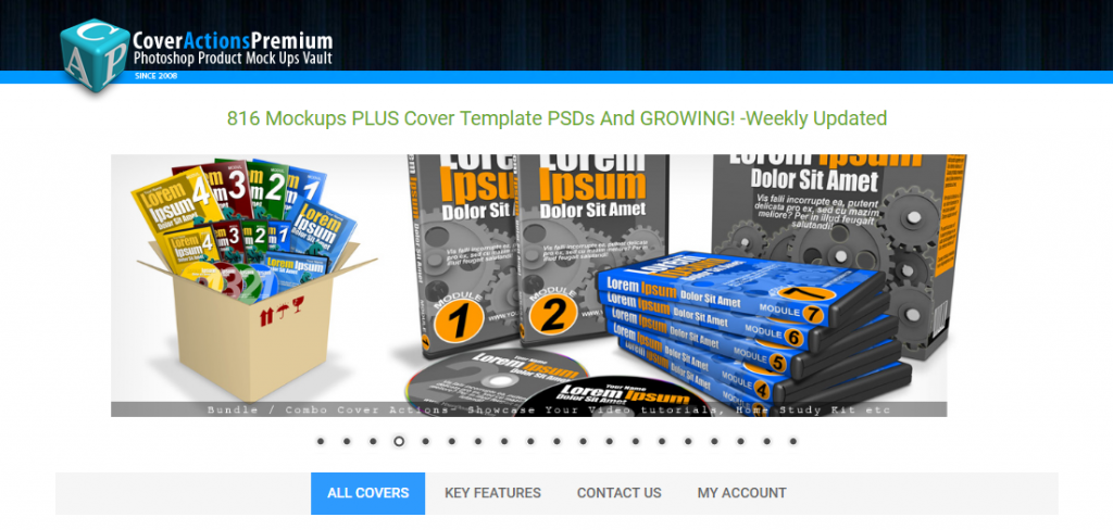 Discover Cover Actions Premium ecover creator