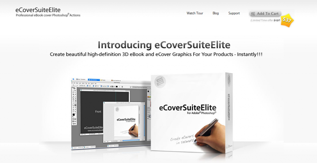 Create Professional Looking eCovers Instantly with eCoverSuiteElite
