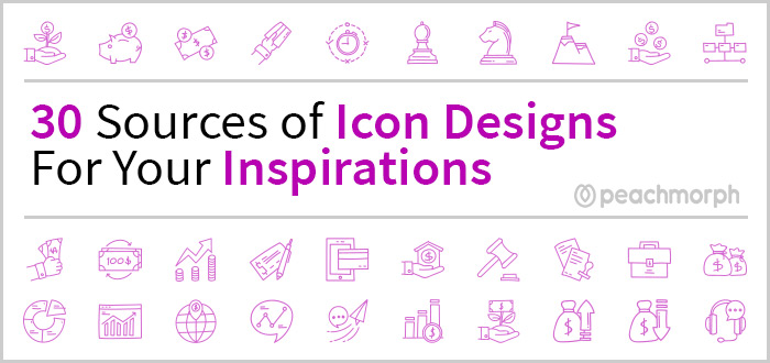 30 Sources of Icon Designs For Your Inspirations